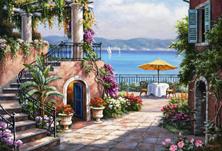 Картина по номерам Тосканская терраса