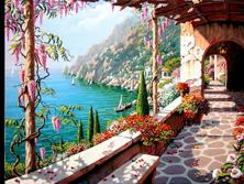 Картина по номерам Вилла у моря