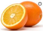 Апельсиновый цвет в природе