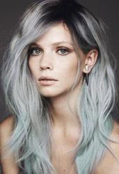 Модные цвета волос 2015. Серебряная лиса или чернобурка