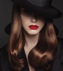 Модные цвета волос 2015. Тон розового золота