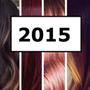 Модный цвет волос 2015