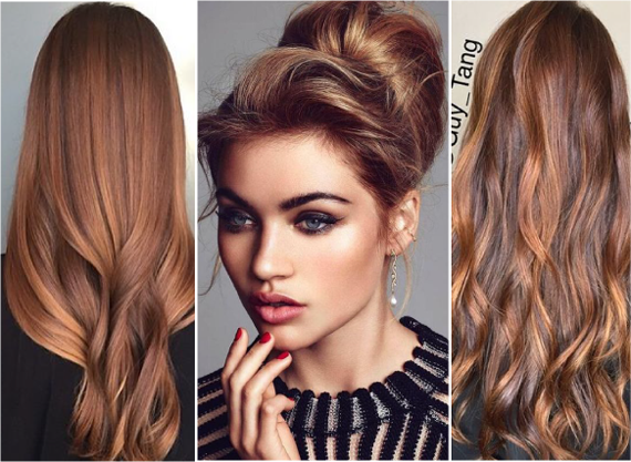Яркий цвет волос без осветления