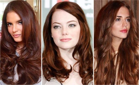 Рыжий цвет волос модный