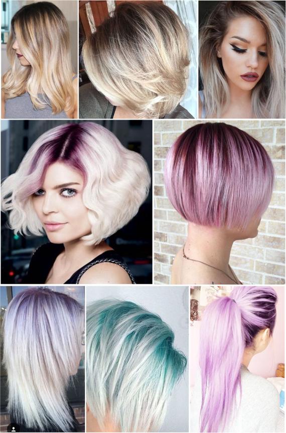 модные цвета волос в этом сезоне