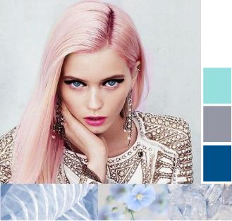 Мода на розовые волосы