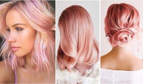 Розовый пепел цвет волос