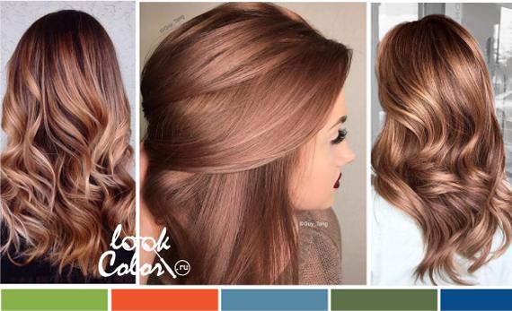 фото цвет волос модный