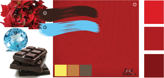 Как сделать тёмный бордовый цвет