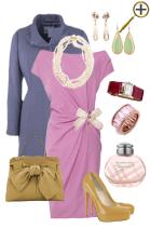 Бледно лиловый цвет в одежде