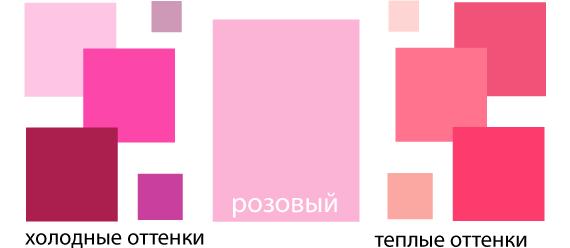 Цвет пурпурно-розовый фото