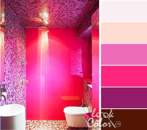 Ярко розовый цвет фото