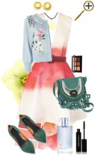 Лосоевый цвет в одежде