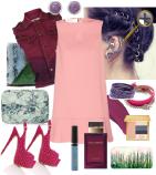 Светло-розовый цвет в одежде