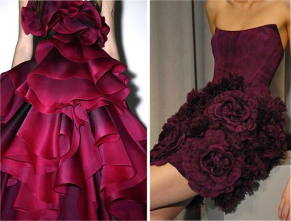 оттенки темно-розового цвета в одежде title=