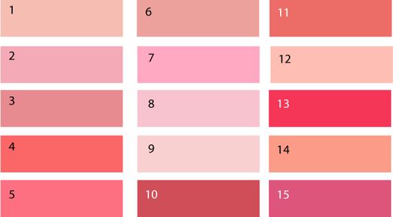 Сиренево розовый цвет