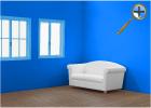 Ярко-синий цвет в  интерьере
