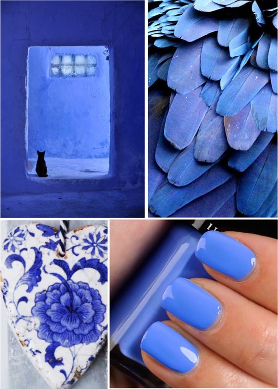 Сине-фиолетовый цвет фото