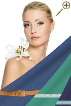 Серо-синий цвет для цветотипа весна