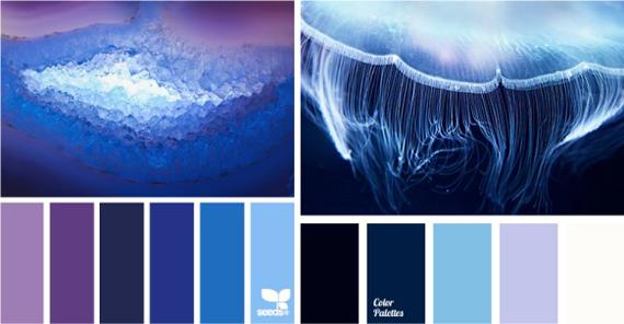 Какой синий цвет