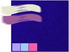 темный сине-фиолетовый цвет