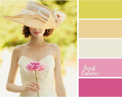 Сочетание с цветом шартрез