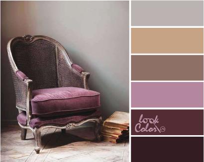 Баклажановый цвет с каким цветом сочетается