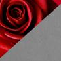 Красный и серый – сочетание цветов