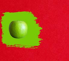 Какой цвет зелёный с красным