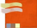 Оранжево-красный цвет