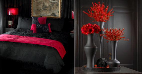 Чёрный+красный какой цвет