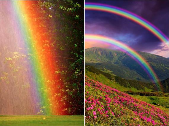 фото радуги цвета радуги