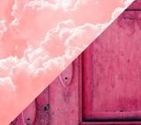 Теплый и холодный розовый