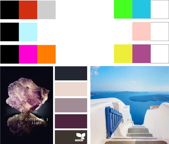 Комбинация цвета