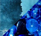 Теплый и холодный синий