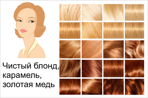 Легендарная блондинка с золотисто русыми волосами