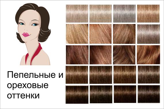 какой цвет волос тест