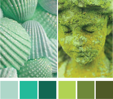 Зеленый цвет холодный или теплый