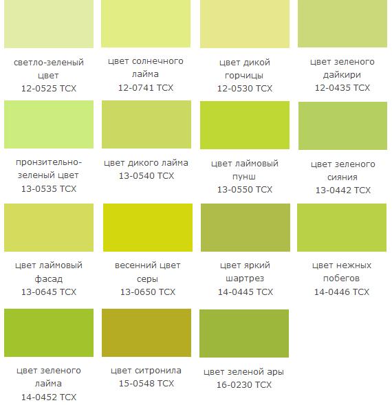 Зеленый цвет желтый