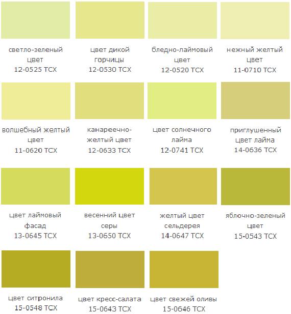Серо-зеленый цвет как называется
