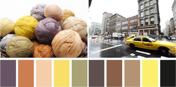 Какие цвета сочетаются с бледно-желтым
