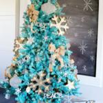 синие, голубые елки
