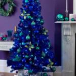 синии елки