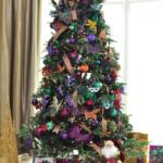 фиолетовые елки