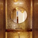 золотой интерьер