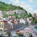 Город у побережья моря